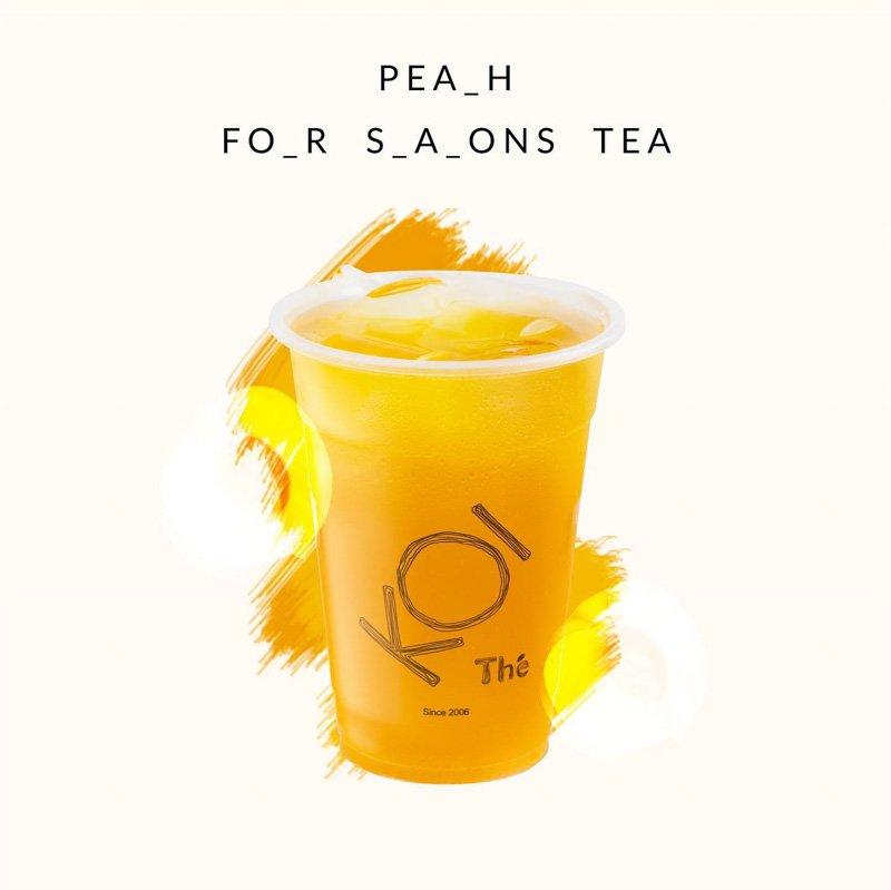 KOI Menu Highlight: Peach Four Seasons Tea