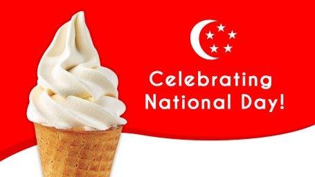 National Day $0.55 Ice Cream