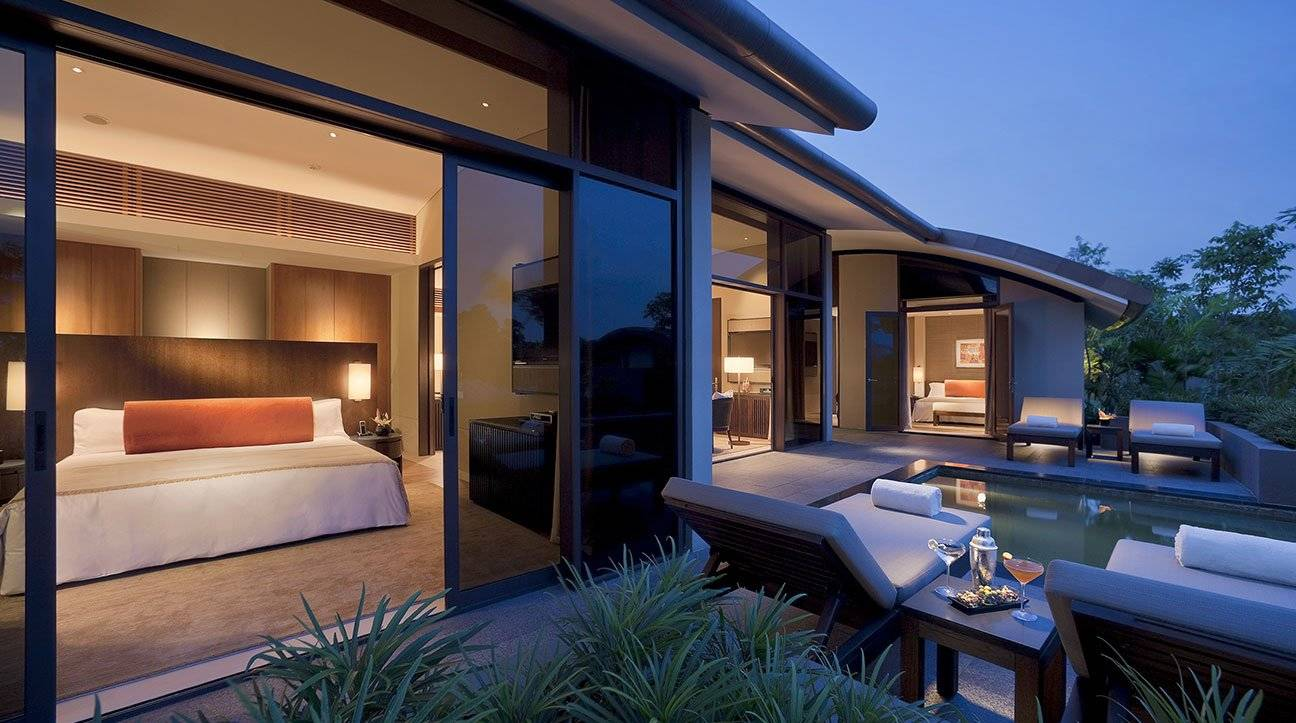Hotel with Private Pool Singapore | Capella Hotel Singapore - Two ...