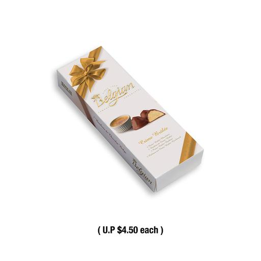 4pc x The Belgian Creme Brulee Pralines 50g (Expiry Mar 2021)
