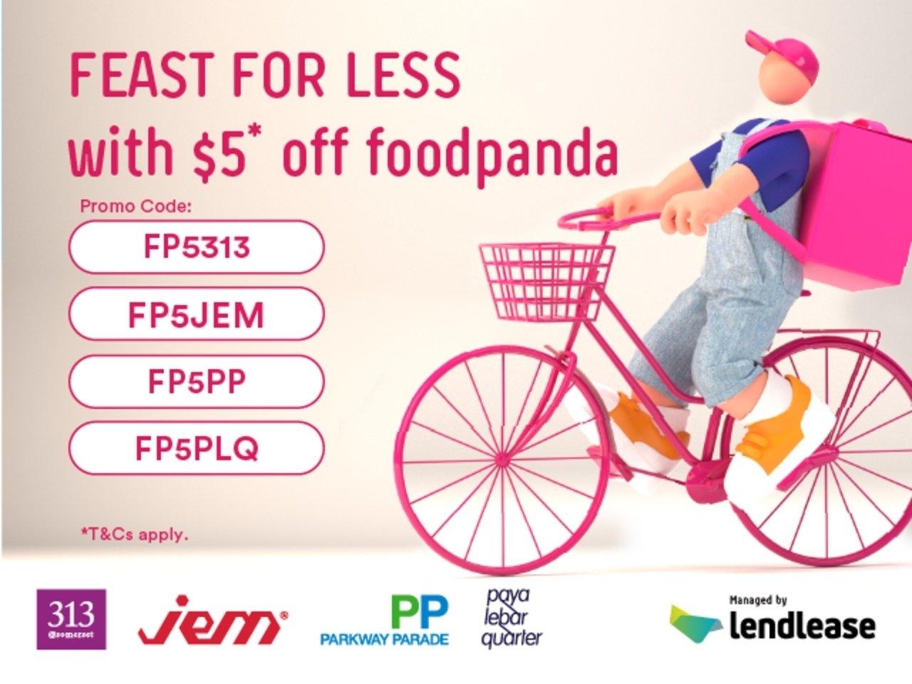 $5 Off Your foodpanda Orders!
