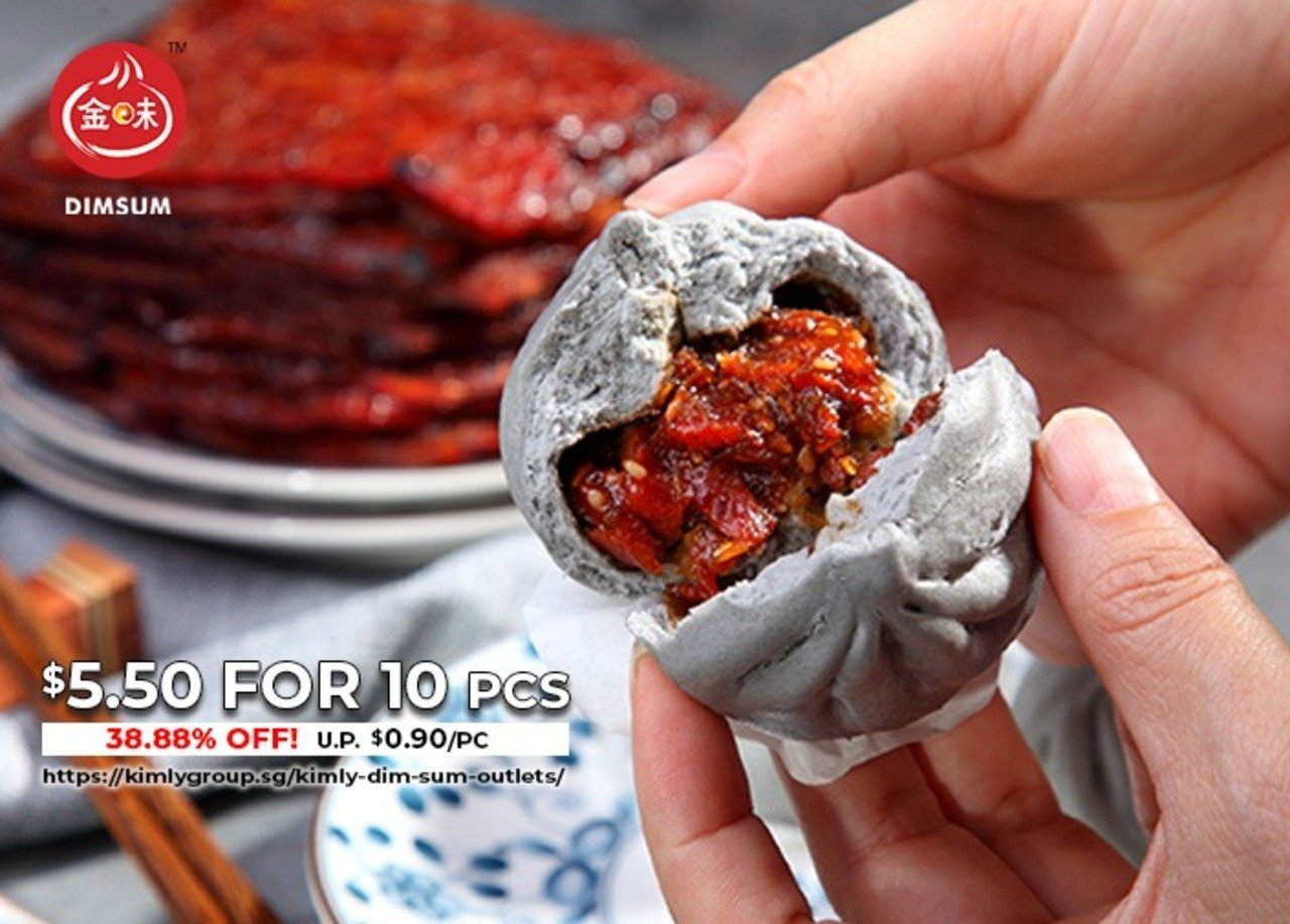Kimly Bak Kua Bao @ $5.50 for 10pcs
