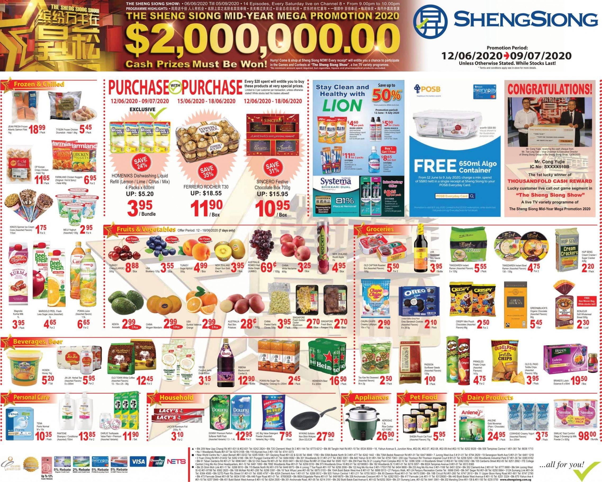 Mega Promotion 12 Jun 2020 - 09 Jul 2020