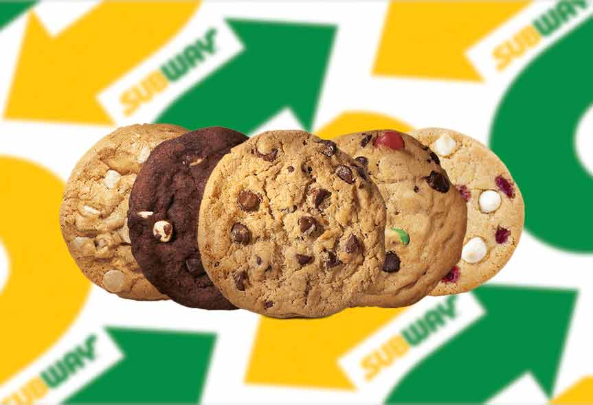 Free* Subway cookie - Save the Student