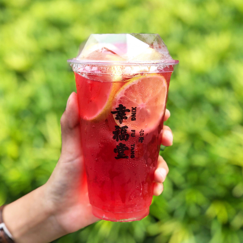 Xing Fu Tang Menu Highlight: Damascus Rose Tea with Lemons